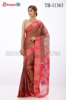 Picture of Half Silk Saree- TB-11363