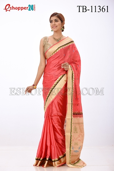 Picture of Pure Silk Saree- TB-11362
