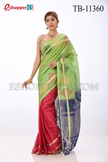 Picture of Half Silk Saree- TB-11360