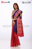 Picture of Soft Silk Saree- TB-11359