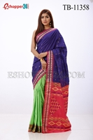 Picture of Half Silk Saree- TB-11358