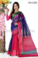 Picture of Half Silk Saree- TB-11355