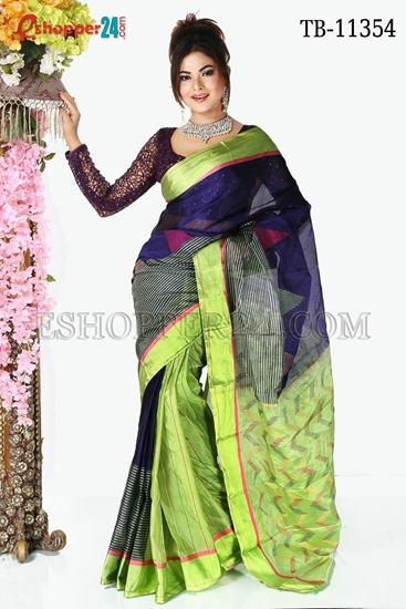 Picture of Half Silk Saree- TB-11354