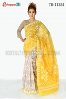 Picture of Half Silk Saree- TB-11351