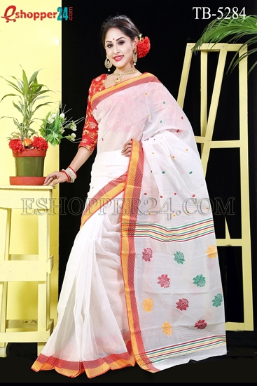 Picture of Half Silk Saree - TB-5284