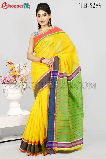 Picture of Half Silk Saree - TB-5289