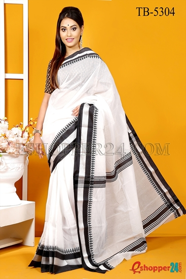 Picture of Half Silk Saree - TB-5304