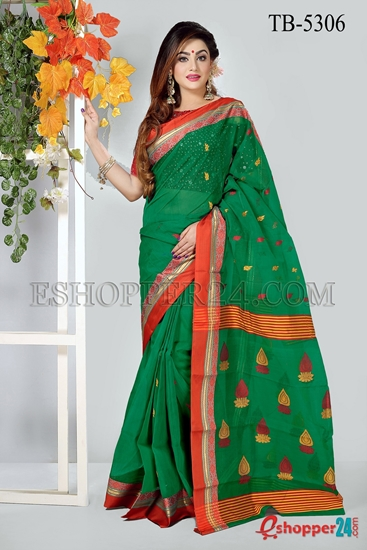 Picture of PURE COTTON SAREE - TB-5306