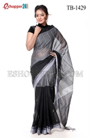 Picture of Cotton Stripe Saree - TB-1429