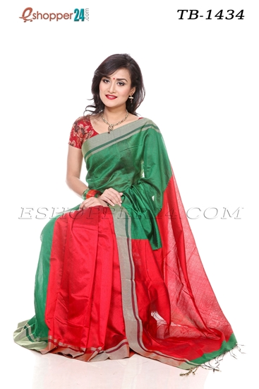 Picture of Cotton Silk Mixed Saree - TB-1434