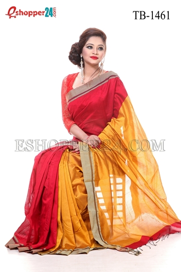 Picture of Cotton Silk mixed Saree - TB-1461
