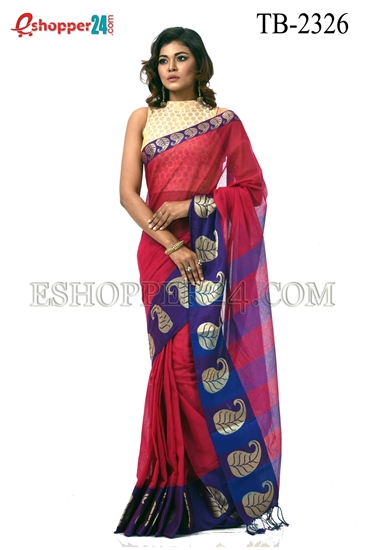 Picture of Pure Cotton Saree - TB-2326