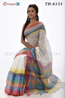 Picture of Cotton  Saree - TB - 4151