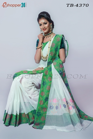 Picture of Soft Cotton Saree - TB-4370
