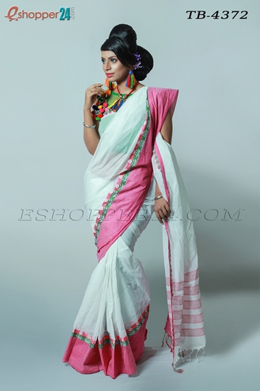Picture of Pure Cotton Saree - TB-4372