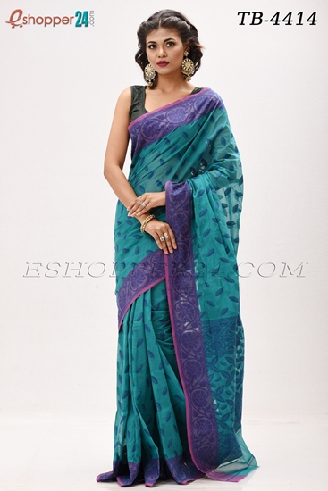 Picture of Cotton Jamdani Saree - TB-4414