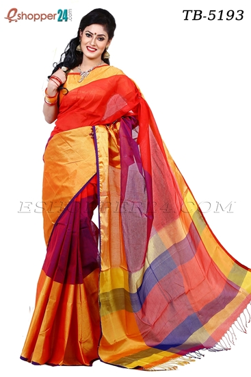 Picture of Pure Cotton Saree - TB-5193
