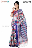 Picture of Pure Cotton Saree - TB-5204