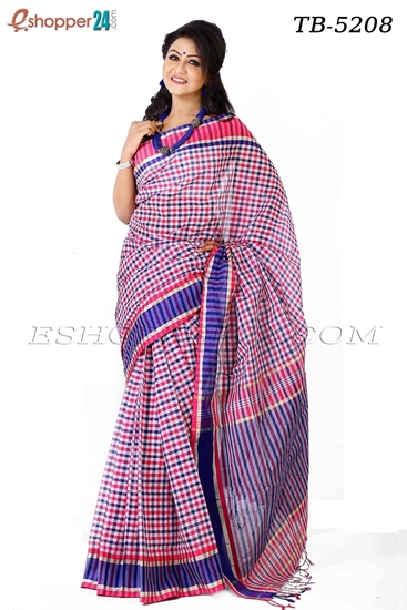 Picture of Pure Cotton Saree - TB-5208