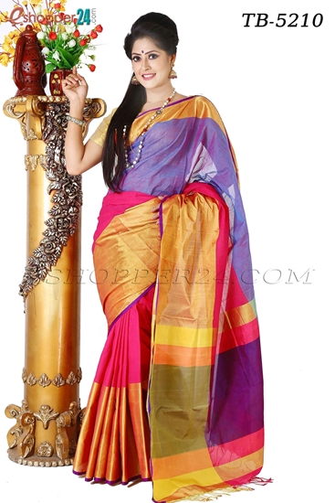 Picture of Pure Cotton Saree - TB-5210