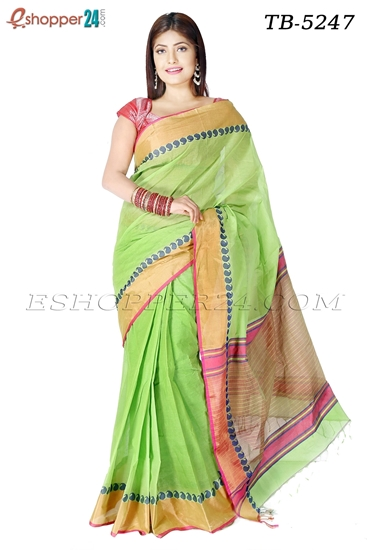 Picture of Pure  Cotton Saree -TB-5247