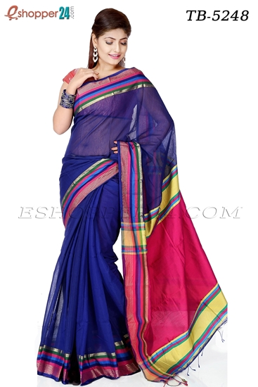 Picture of Half Silk Saree - TB-5248