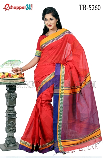 Picture of Pure Cotton Saree - TB-5260
