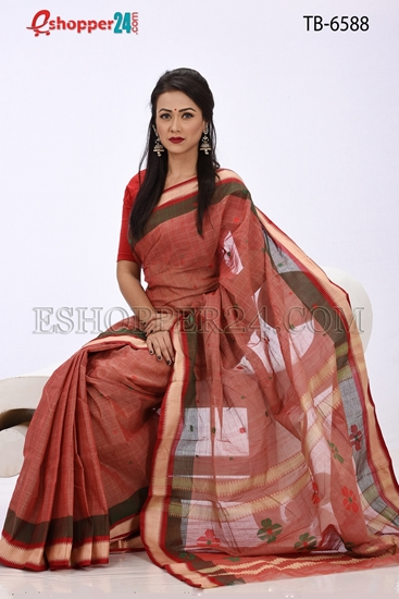 Picture of Pure Cotton Saree - TB-6588