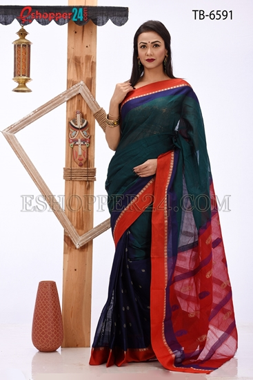 Picture of Pure Cotton Saree - TB-6591