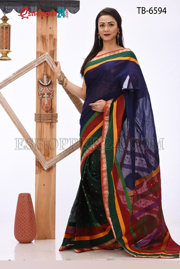 Picture of Soft Cotton Saree - TB-6594