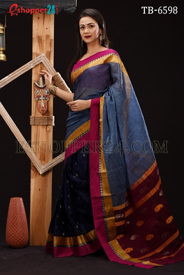 Picture of Soft Cotton Saree - TB-6598