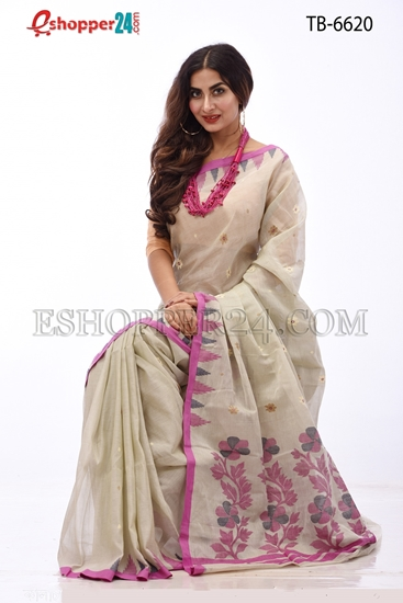 Picture of Soft Cotton Saree - TB-6620