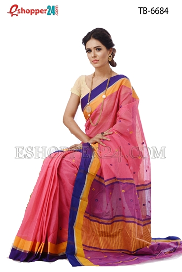 Picture of Pure Cotton Saree - TB-6684