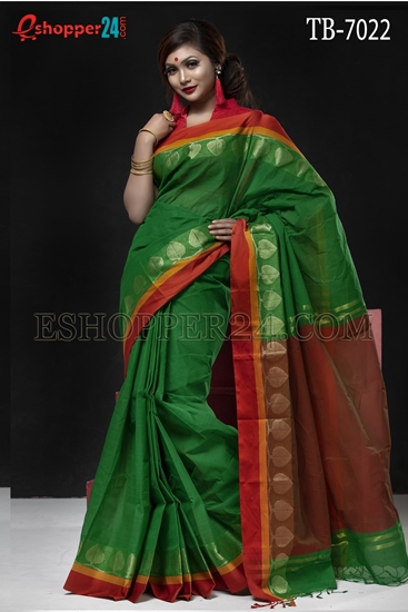 Picture of Pure Cotton Saree - TB-7022