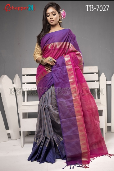 Picture of Pure Cotton Saree - TB-7027