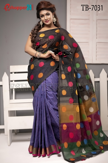 Picture of Pure Cotton Saree - TB-7031