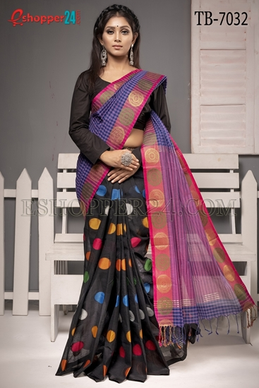 Picture of Pure Cotton Saree - TB-7032