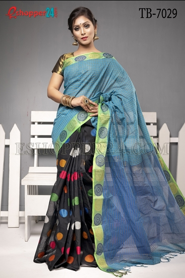 Picture of Pure Cotton Saree - TB-7029