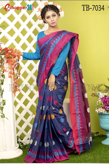 Picture of Pure Cotton Saree - TB-7034
