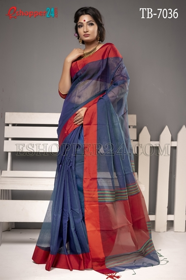 Picture of Half Silk Saree - TB-7036