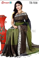 Picture of Pure Cotton Saree - TB-7038