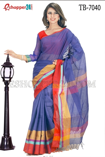 Picture of Pure  Cotton Saree - TB-7040