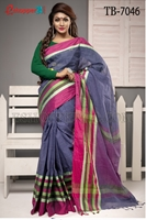 Picture of Pure Cotton Saree - TB-7046