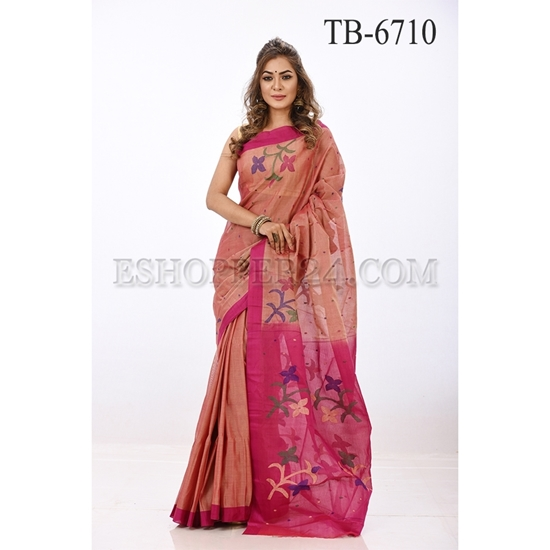 Picture of Gas Silk Saree - TB-6710