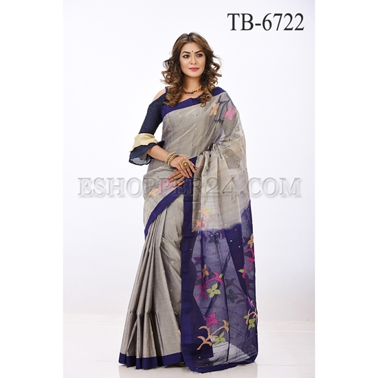 Picture of Gas Silk Saree - TB-6722