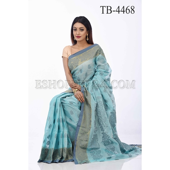 Picture of COTTON JAMDANI SAREE- TB-4468