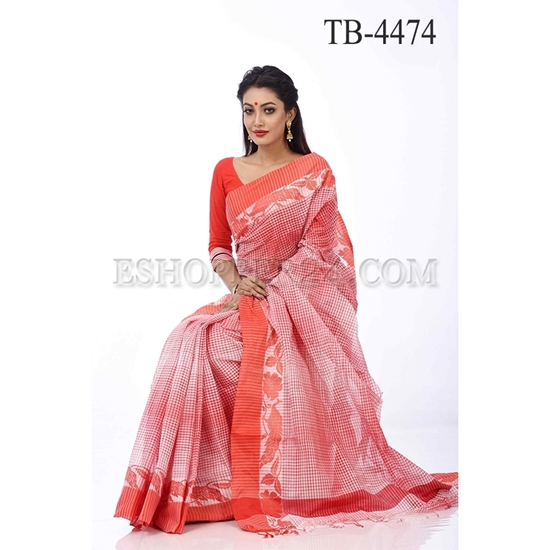Picture of Pure Cotton Saree -TB-4474