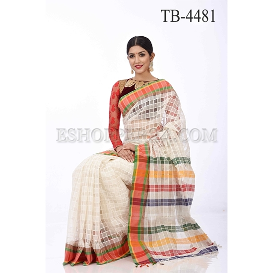 Picture of Reshom Kuta Saree - TB-4481