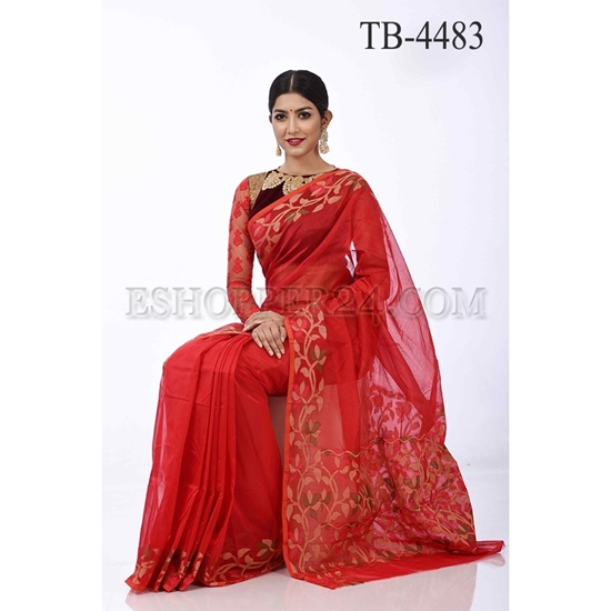 Picture of Gas Silk Saree  - TB-4483