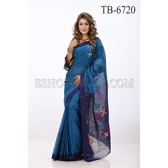 Picture of Gas Silk Saree - TB-6720